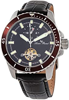 Lucien Piccard Automatic Black Dial Men's Watch 1298A1