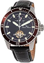 Lucien Piccard Automatic Black Dial Mens Watch 1298A1