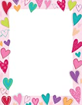 Great Papers! Dancing Hearts Letterhead, 80 Count, 8.5