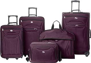 American Tourister Wakefield 5 Piece Luggage Set (Purple)
