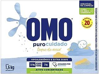 Lava-Roupas em Pó Roupas Delicadas Omo Puro Cuidado Caixa 1,6Kg, Omo, 1.6 Kg