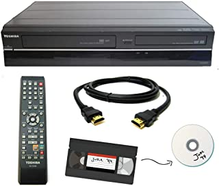 Toshiba VHS to DVD Recorder VCR Combo w/ Remote, HDMI (Renewed)