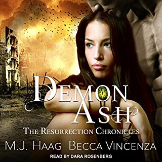 Demon Ash audiobook cover art