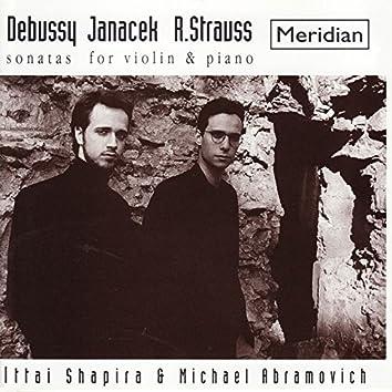 Debussy, Janacek, Strauss: Sonatas for Violin and Piano