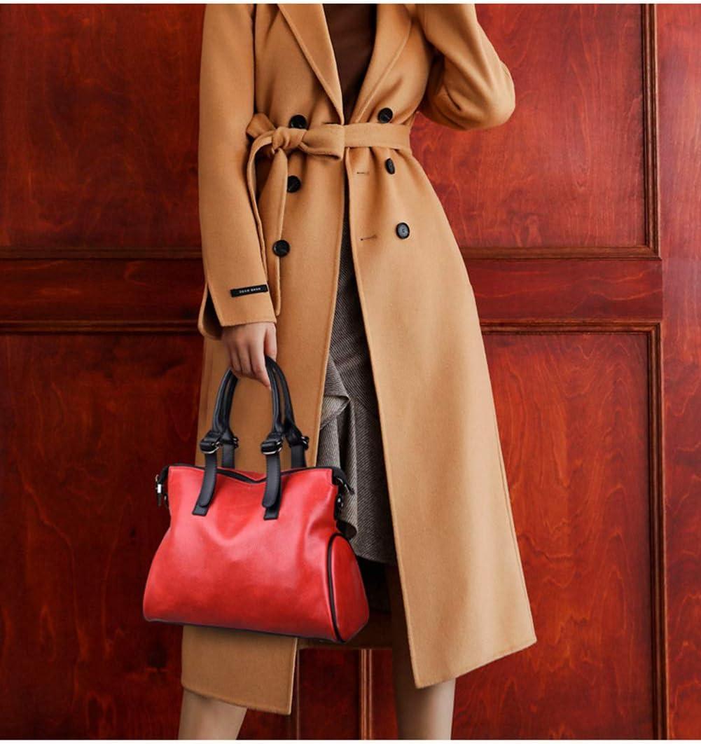 M3M Femmes Sac fourre-Tout, Sac à Main Fashion Sac Seau fourre-Tout Pink