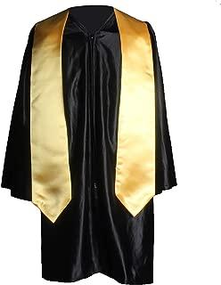 GraduationService Unisex Plain Graduation Stole for Kinergarten and Elementary School Length 50'',12 Colors