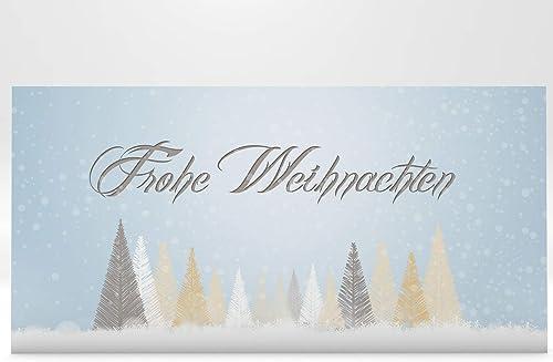 gran venta Tarjetas de de de Navidad Invierno licher cuento bosque 100unidades imprimibles  marcas en línea venta barata
