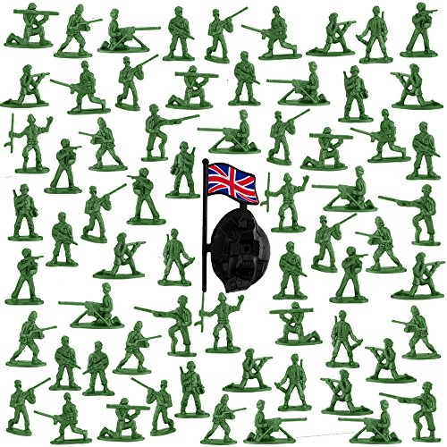 Etmact Deluxe Bag Of Classic Toy Green Army Soldiers, Various Poses, 200 Count Toy Soldiers Soldier Toy Army Soldiers Green Toy Soldiers Army Soldiers Toy Soldiers Action Figures Count Toy Classic Toy