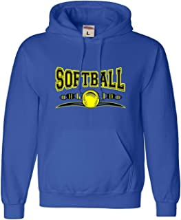 Adult Softball Cool Design Fastpitch Sweatshirt Hoodie