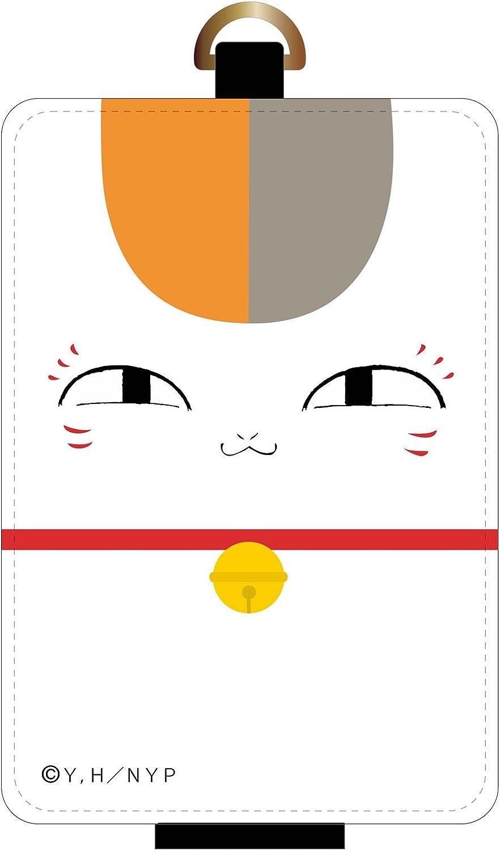 Gourmandise Natsume's Book of Friends IC card case Nyanko sensei   face-nyc-03a