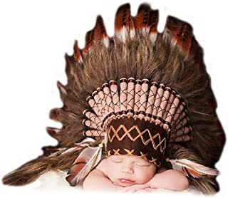 K03 para 0 a 9 Meses Bebé/Recién Nacido: ¡Tocado Brown para los más pequeños!