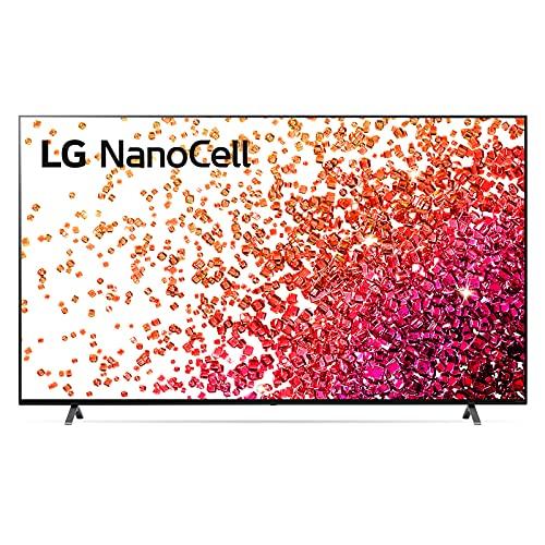 "LG NanoCell 86NANO756PA Smart TV LED 4K Ultra HD 86"" 2021, Processore α7 Gen4, Dolby Vision IQ, Wi-Fi, webOS 6.0, FILMAKER MODE, Game Optimizer, Google Assistant Alexa Integrati, Telecomando Puntatore"