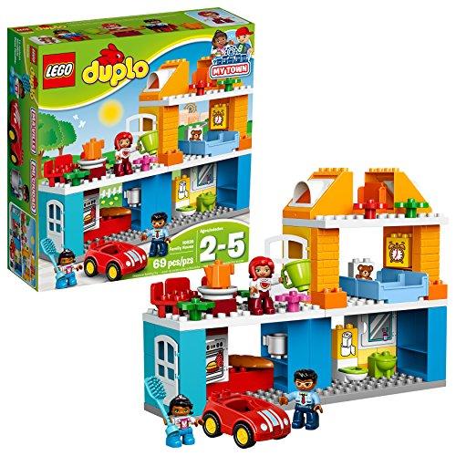 LEGO Duplo La Maison Familiale 10835 Jouet pour Enfants de 3 ans et Plus - 0