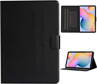FunAdd Tablet Protective Case Compatible for Samsung Galaxy Tab S6 Lite (P610/615) Solid Color Horizontal Flip Leather Cas...