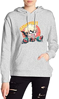 My Hero Academia Boku No Hero Bakugou Katsuki Hoodies Sweatshirt Adult Pullovers for Women