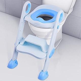 FBGood Toilettes Enfants Rose Si/ège de Toilette pour Enfants Toilette B/éb/é Brosse Oussin de Si/ège de Toilette Gar/çon Gar/çon avec Si/ège Rembourr/é