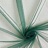 Fabulous Fabrics Tüll dunkelgrün, Uni, 145cm breit –