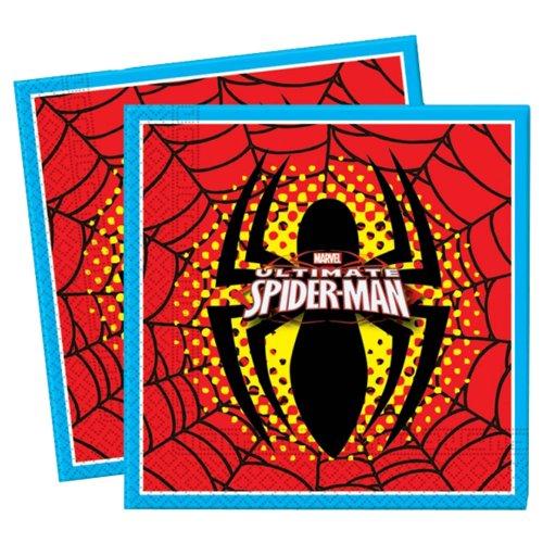 Der ultimative Spiderman 20 Servietten