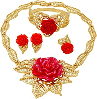 dubai gold red