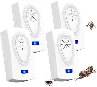 ZHENROG Repelente Ultrasónico, 2020 Nuevo Plagas Control Interiores, Insectos Antimosquitos Elé...