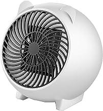 Radiador eléctrico ventilador calentador mini aire soplador potente 250 W para cuarto de baño, salón, oficina, dormitorio