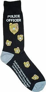 Police Officer Man Socks Cotton New Gift Fun Unique Fashion