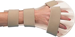 Rolyan Splinting Material, Anti-Spasticity Ball Splint for Hand, Straps Included, Right, Small