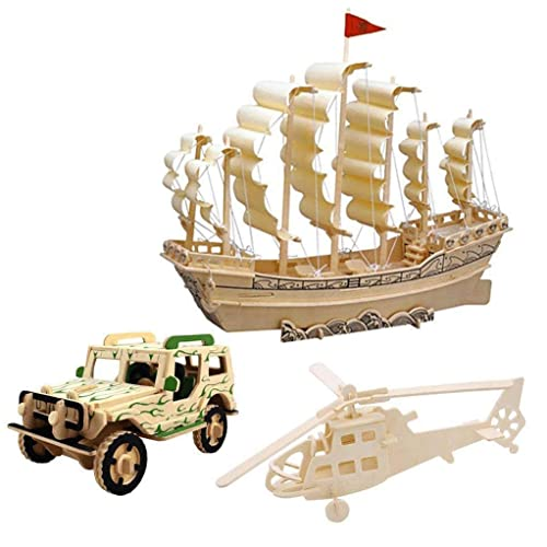 Wood Model Cars Kits to Build: Amazon com