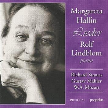 Strauss, R. - Mahler - Mozart: Lieder