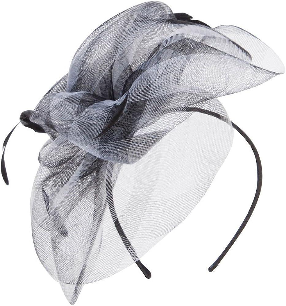 Jeanne Simmons Women's Big Petal Feathers Fascinator