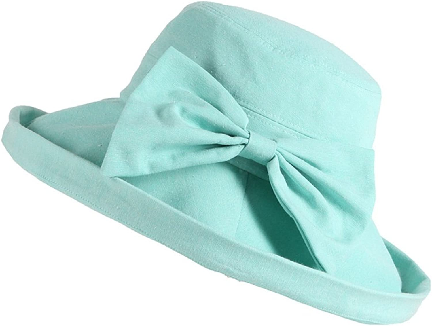 Women's Hats Can Be Folded Up for Outdoor Travel in Summer with A Large Brim Shading and Sun Predection Hat