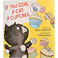 Constructive Playthings HR-47 If you Give a Cat a Cupcake Children's 32 Page Hardcover Book Multi [並行輸入品]