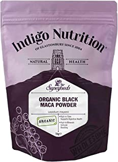 Indigo Herbs Maca negra orgánica en polvo 1kg