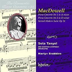 Edward Macdowell : The Romantic Piano Concerto, Volume 25