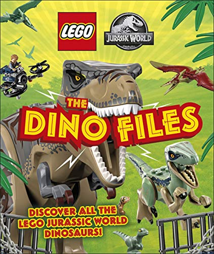 LEGO Jurassic World The Dino Files: with LEGO Jurassic World Claire minifigure and baby raptor! (English Edition)