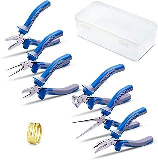 SPEEDWOX Mini Lot de bijoux Pinces de pinces 6 pièces Petite fine bijoux Pince kit Micro Precision Craft Outil à Main de q...