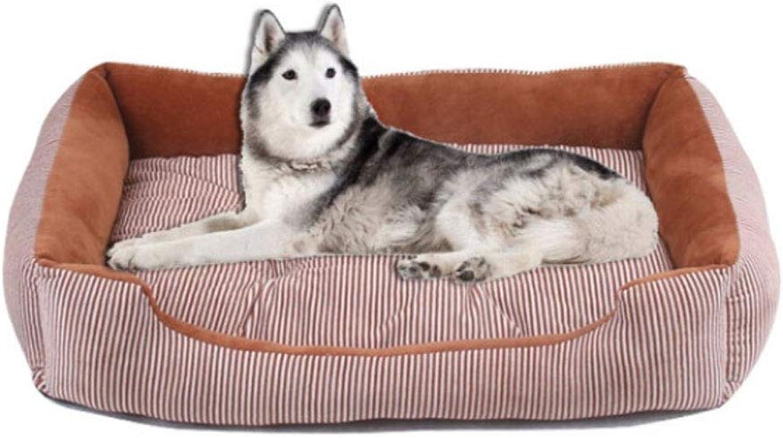 Dog Bed, Small And Medium Dog, Teddy Dog Bed, Large Dog, golden Retriever Dog, Sleeping Pad Sofa, Crystal Velvet Dog Mat, Autumn And Winter Warm Pet Supplies, Kennel Mat Cat Litter