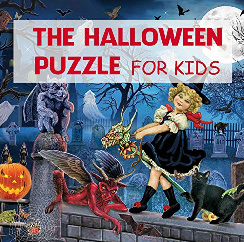 The Halloween puzzle for kids: Mazes, Activities, And Puzzles for Hours of Spine-tingling Fun (English Edition)
