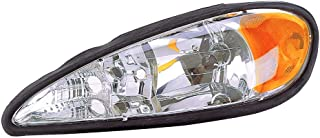 Headlight Replacement For Pontiac Grand Am Driver Left Side Lh 1999 2000 2001 2002 2003 2004 2005 Headlamp Assembly