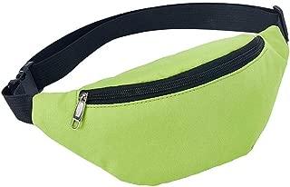 YWSCXMY-AU Fashionable Waterproof Bosom Bag Neutral Fanny Bosom Girl Bosom Pocket (Color : Green)