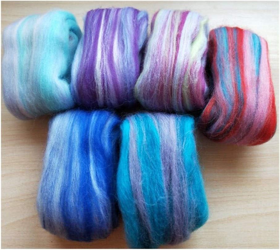 Moonlight Star Popular brand in the world Wool roving Minneapolis Mall Merino Needle Colo Mixed Felting