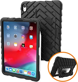 Gumdrop Hideaway Case Designed for The Apple iPad Pro 11 (2019) Tablet for K-12 Students, Teachers, Kids - Black, Rugged, Shock Absorbing, Extreme Drop Protection
