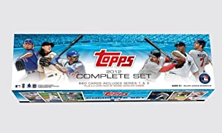 2012 Topps MLB Baseball EXCLUSIVE HUGE 667 Card Factory Set with TWO(2) Bryce Harper Variation ROOKIES & MIKE TROUT Plus Special Willie Mays Chrome REFRACTOR! Includes all Cards Series 1 & 2!