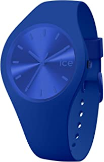 Ice-Watch - Ice Colour Royal - Montre Bleue Mixte avec Bracelet en Silicone - 017906 (Medium)