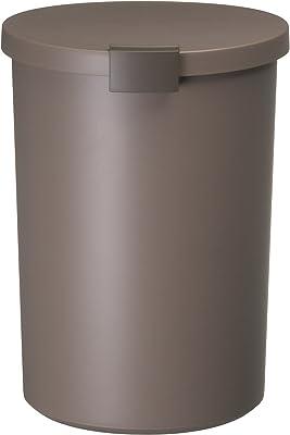 I'mD (アイムディ) ゴミ箱 Kcud クード ラウンドロック ブラウン 12.4L KUDRL BR