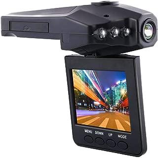 Akkubetrieb oder Stromversorgung /über Autoladeger/ät Stylisches Slim-Design in der Farbe Gold KawKaw UltraSlim Full-HD Dashcam mit gro/ßem 3 Zoll LCD-Bildschirm und Nachtsicht-Aufnahme