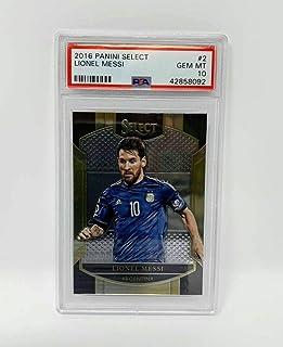 2016 Panini Select Lionel Messi PSA 10 GEM Mint Argentina Unique Collectible Item Soccer Card