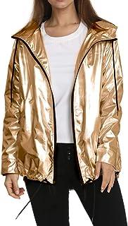 Manooby Abrigo Impermeable con Capucha para Mujer Chaqueta Jacket Rompevientos Ligero del Aire Libre A Prueba de Nieve y V...