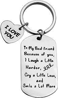 Friend Thank You Gift To My Best Friend Friendship Keychain Best Friend Appreciation Gift Best Friend Keychain Best Friend...