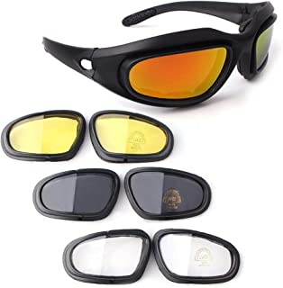 Bernard Bertha Motorcycle Riding Glasses Goggle Kit,...